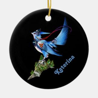 Feathyrkin Veeku Round Ornament