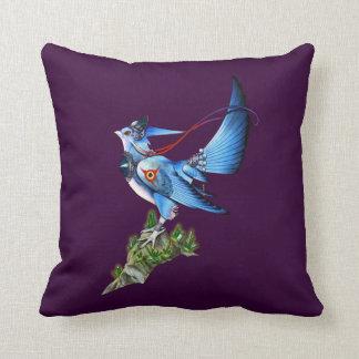 Feathyrkin Veeku Throw Pillow
