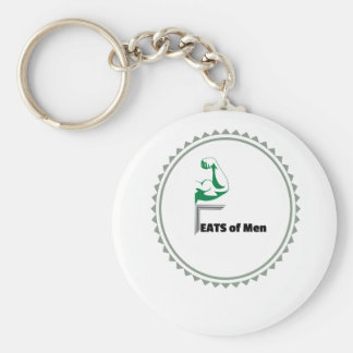 Feats of Men Apparel, Trinkets, and Merchandise Keychain
