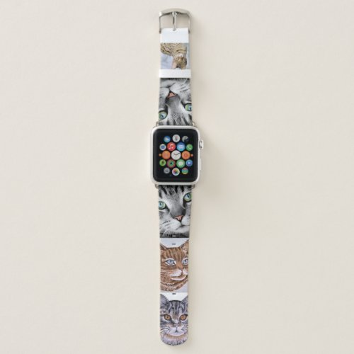Feature 5 of YOUR Photos Special Cat Kittens Apple Watch Band