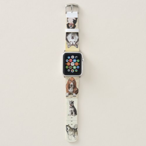 Feature 5 of YOUR Photos Special Pets Dog Puppy Apple Watch Band