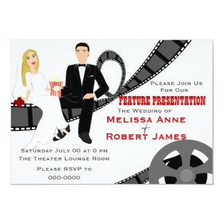 Feature Presentation Wedding Card
