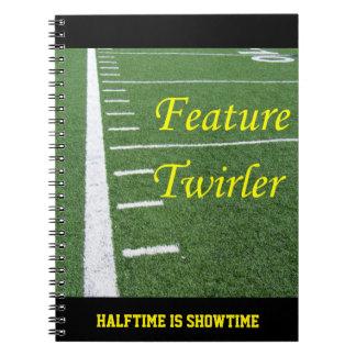 Feature Twirler Note Book