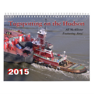 Featuring Amy C McAllister Tugspotting Hudson Calendar