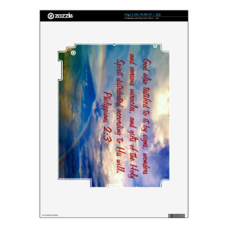 Feb 3 - Bible Verse Birth - Phil. 2:3 Skins For The iPad 2