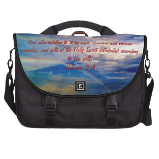 Feb 4th - Bible Verse Birth Bag Laptop Computer Bag