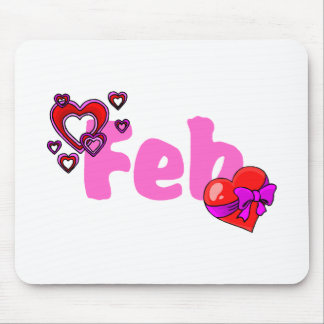 Feb (Valentines) Mouse Pad