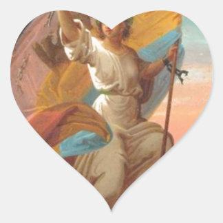 February 11th, 1866 - The Modern Romania Gheorghe Heart Sticker