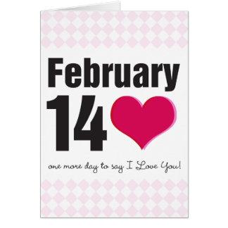 February 14 card