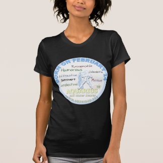 February 14th Birthday - Aquarius Tshirts