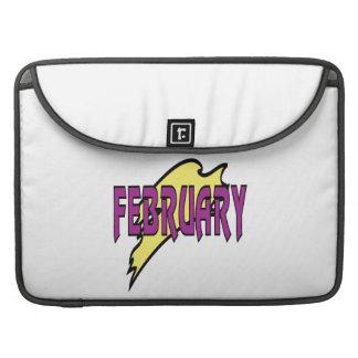 February 1 sleeve for MacBooks