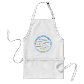 February 20th Birthday - Pisces Aprons