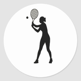 February 23rd - Play Tennis Day - Appreciation Day Classic Round Sticker