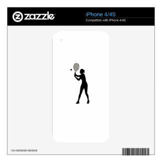February 23rd - Play Tennis Day - Appreciation Day Decals For The iPhone 4S