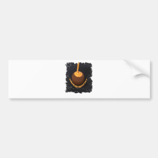 February 28th - Chocolate Soufflé Day Bumper Sticker