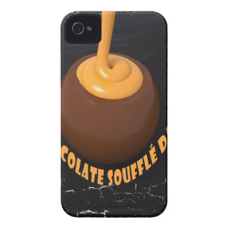 February 28th - Chocolate Soufflé Day iPhone 4 Cover