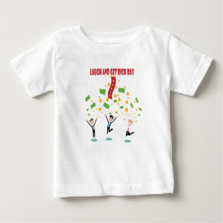 February 8th - Laugh And Get Rich Day Baby T-Shirt