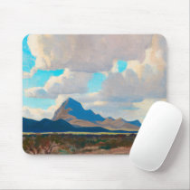 February Afternoon, Tucson Mountains by Dixon Mouse Pad