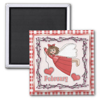 February Angel / Fairy Month Magnet