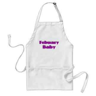 February Baby Aprons