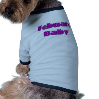 February Baby Doggie Tee