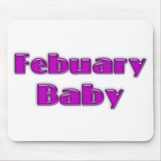 February Baby Mouse Pad