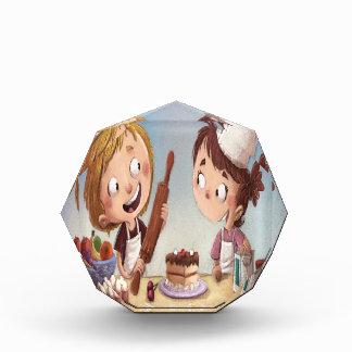 February - Bake For Family Fun Month Acrylic Award