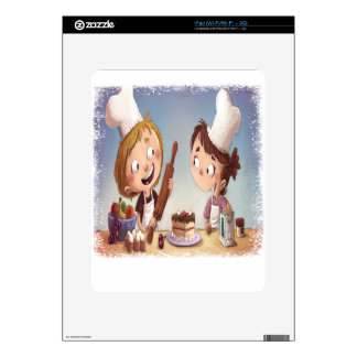 February - Bake For Family Fun Month iPad Decal