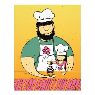 February - Bake For Family Fun Month Letterhead