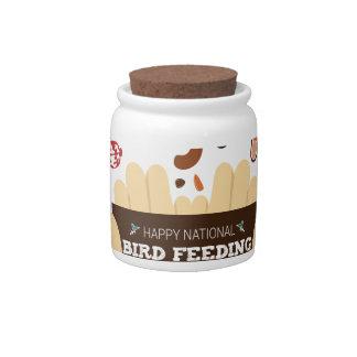 February Bird-Feeding Month - Appreciation Day Candy Jar