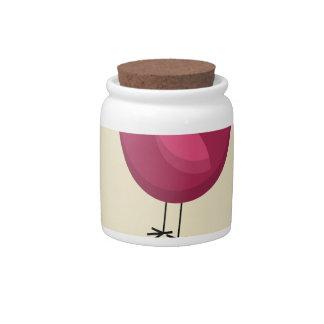 February - Bird-Feeding Month - Appreciation Day Candy Jar