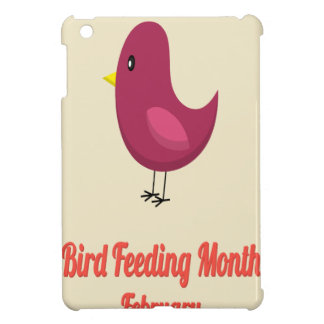 February - Bird-Feeding Month - Appreciation Day Case For The iPad Mini