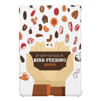 February Bird-Feeding Month - Appreciation Day Cover For The iPad Mini