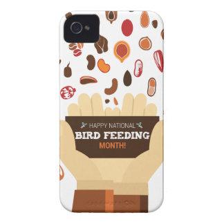 February Bird-Feeding Month - Appreciation Day iPhone 4 Case