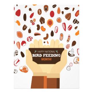February Bird-Feeding Month - Appreciation Day Letterhead