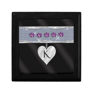 February Birthday Charm Jewelry Box