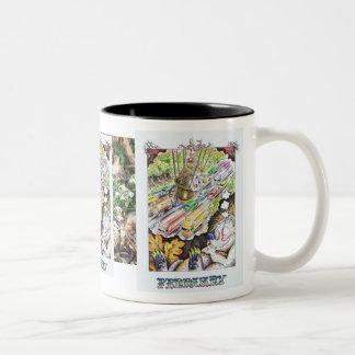 February Birthday Cute Hedgehog Mug