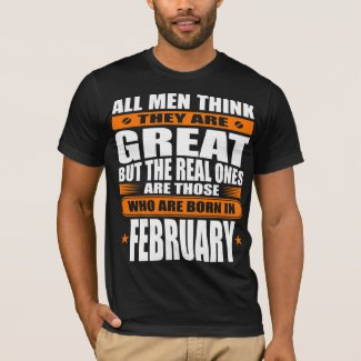 February Birthday T-Shirt