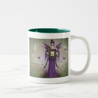 February Birthstone Fairy Coffee Mug