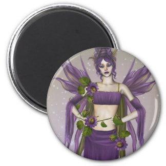 February Birthstone Fairy Refrigerator Magnets
