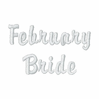 February Bride Embroidered Shirt