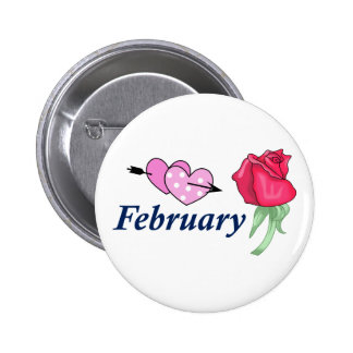 FEBRUARY BUTTONS
