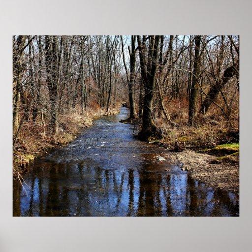 February Creek Posters