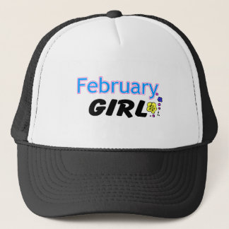 February Girl Trucker Hat