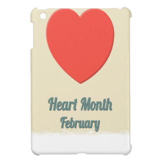 February - Heart Month - Appreciation Day iPad Mini Cover