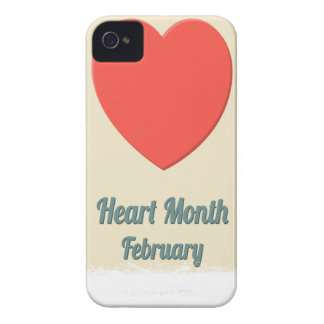February - Heart Month - Appreciation Day iPhone 4 Cover