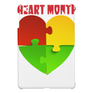 February - Heart Month Cover For The iPad Mini