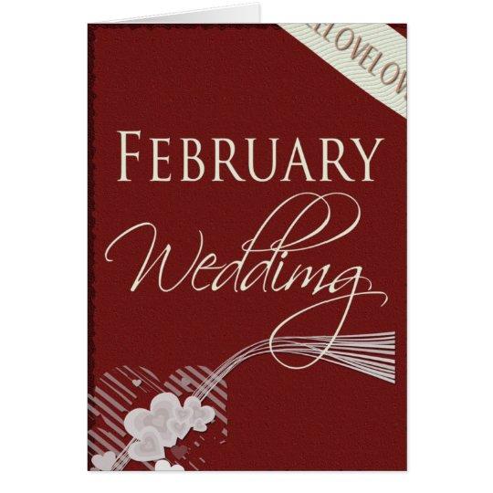 February hearts ... card