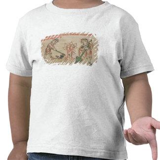 February: hoeing tee shirt