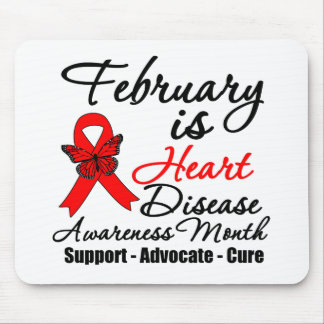 February is Heart Disease Awareness Month Mouse Pads